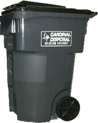 cardinal disposal wheeled tote for garbage removal right